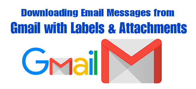 Backup Gmail Emails and Labels